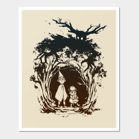 over the garden wall posters and art prints teepublic - Over The Garden Wall Poster