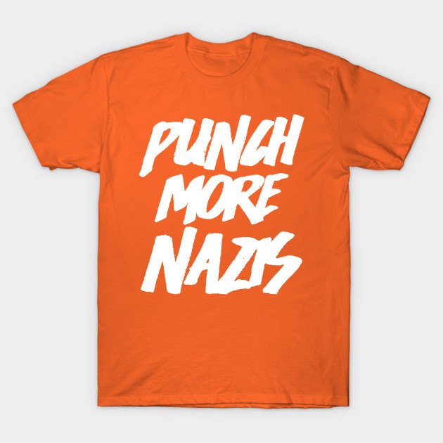 Goals (Punch More Nazis) T-Shirt-TOZ