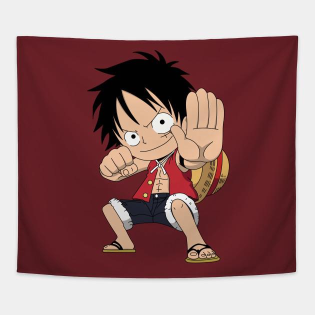 Chibi Monkey D Luffy Gear 2