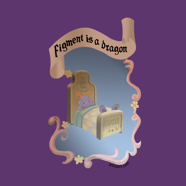 Figment is a Dragon - Epcot, Journey Into Imagination