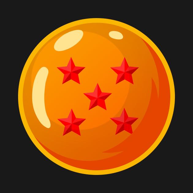 5-Star Dragonball (Pocket) - DBZ - Dragonball - T-Shirt ...