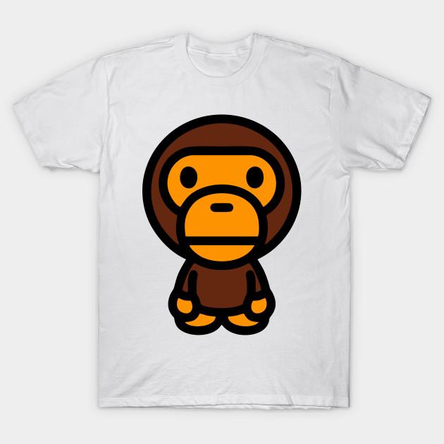 106e4488 ... bape babymilo bape babymilo t shirt teepublic ...