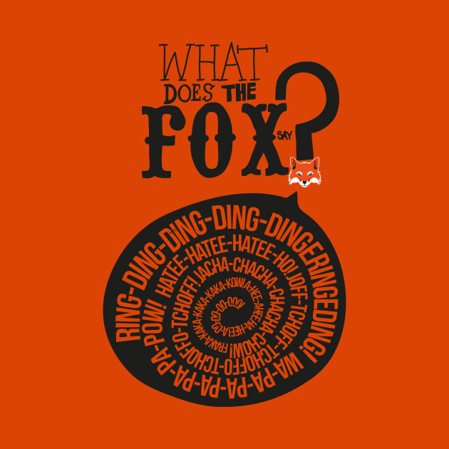 9bb4f0f8ca47 What Does the Fox Say  - Ylvis - Kids T-Shirt