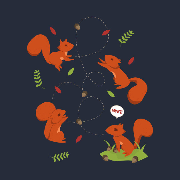 Feisty Squirrels