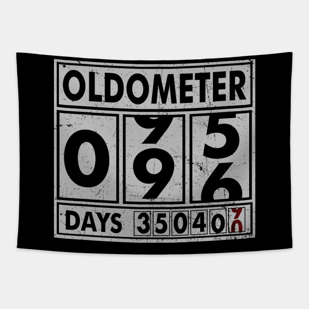 OLDOMETER 96 Years Old Made In 1922 96th Birthday Tapestry