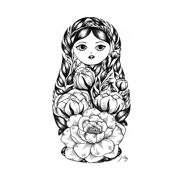 Floral Matryoshka