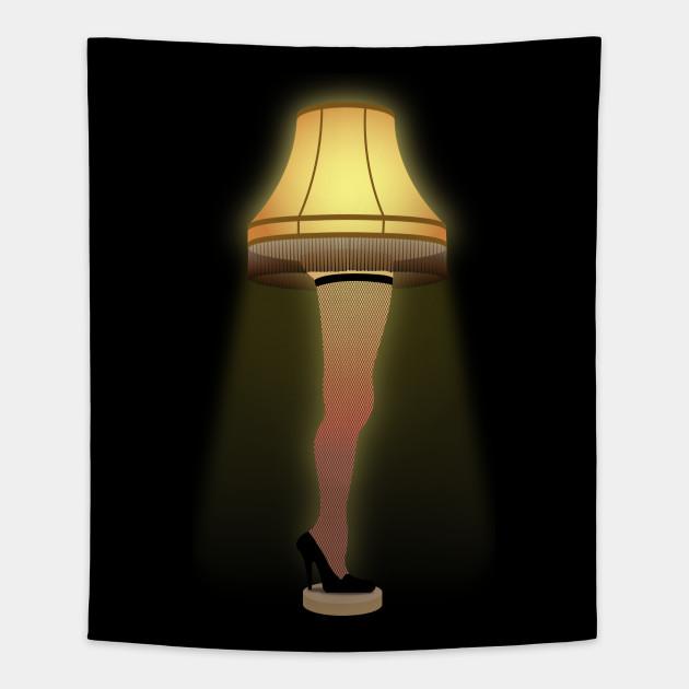 The Christmas Story Leg Lamp.A Christmas Story Leg Lamp