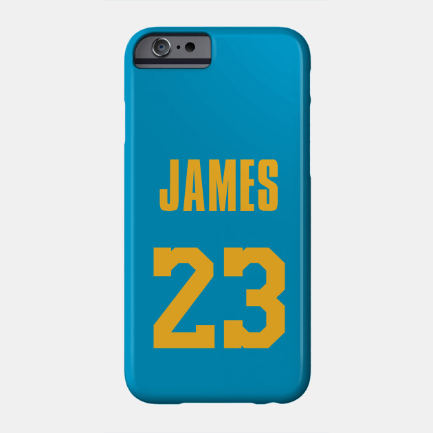 b3b72a8bf LeBron James MPLS Lakers Jersey - Lebron James - Phone Case