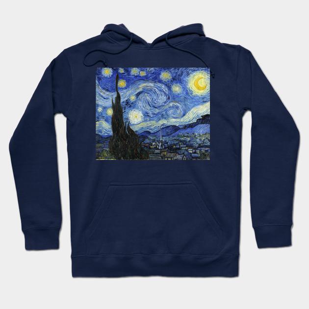 Van Gogh starry night pullover