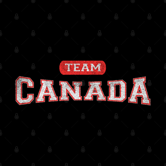 Classic Canadian TEAM Canada Distressed