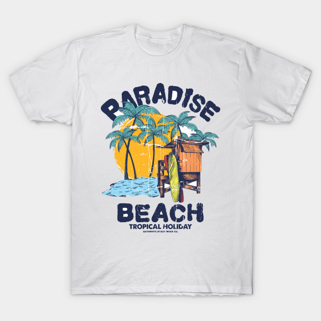 1b936562c14414 Paradise beach - Summer - T-Shirt