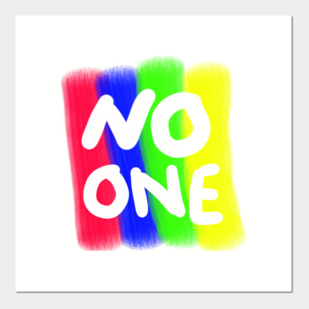 No one colors