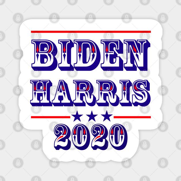 Biden Harris 2020 Western Style Text, TPSD