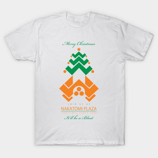 17eaada5a Die Hard Nakatomi Plaza Christmas Party Invite - Die Hard Xmas - T ...