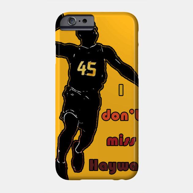 I Don t Miss Hayward (City Edition) - Utah Jazz - Phone Case  0b57e0fe3