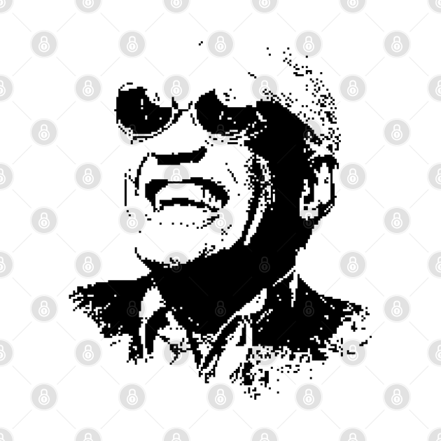 Ray Charles Portrait Pop  Art