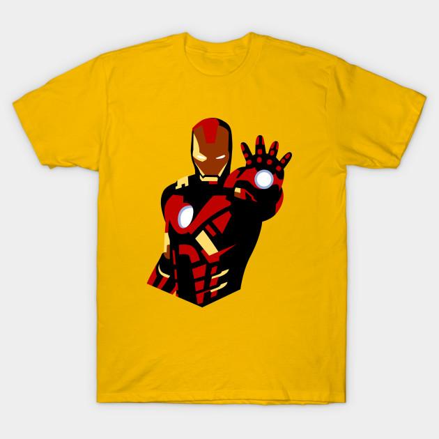 ironman iron man t shirt teepublic. Black Bedroom Furniture Sets. Home Design Ideas