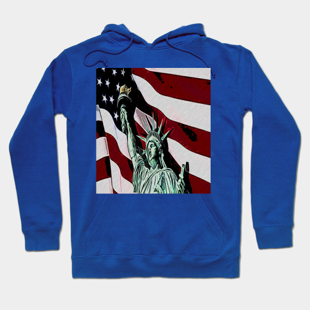 National freedom day of amérique Hoodie