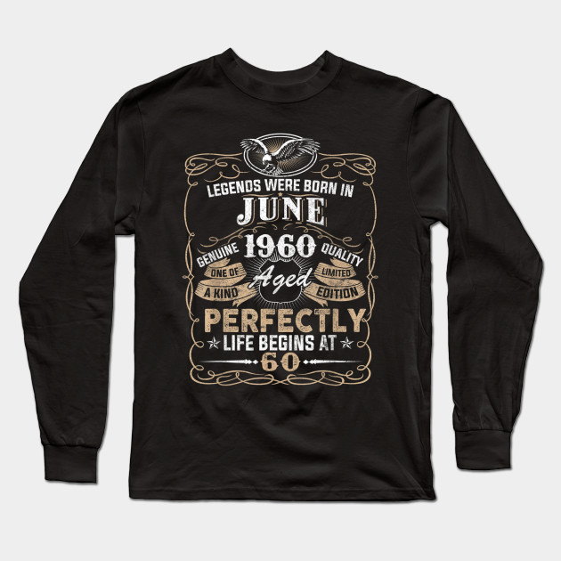 LEGENDS ARE BORN IN JUNE LADIES T SHIRT COOL FUNNY BIRTHDAY GIFT PRESENT IDEA