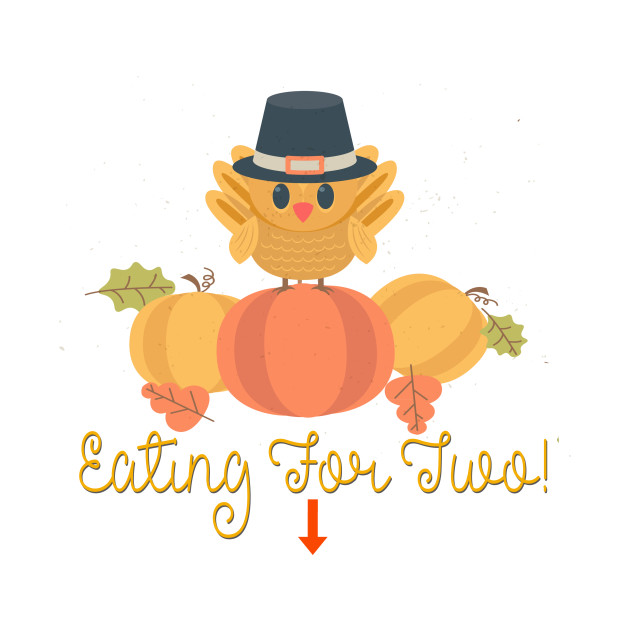 Thanksgiving Eating For Two
