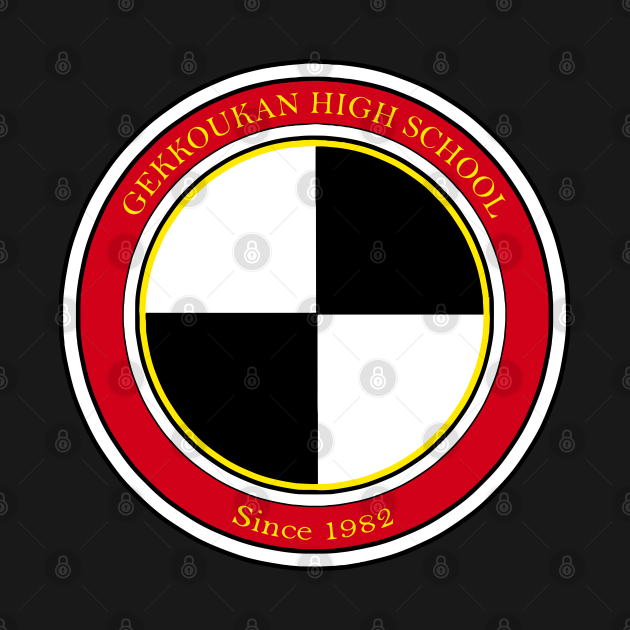 Gekkoukan High School Logo