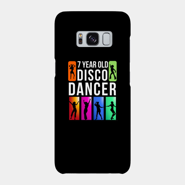 7 Year Old Disco Dancer Birthday Gift Idea For Phone Case