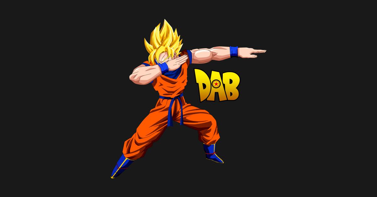 Super Saiyan Goku Dab - Dragon Ball - T-Shirt