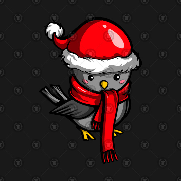 Cockatiel Parrot Bird Santa Funny Christmas Bird