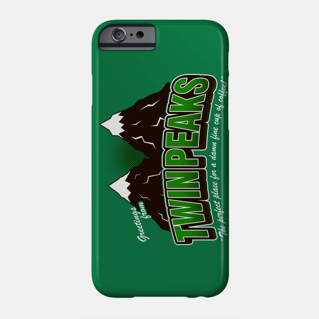 Greet twin peaks v2 green twin peaks phone case teepublic 16073 0 m4hsunfo