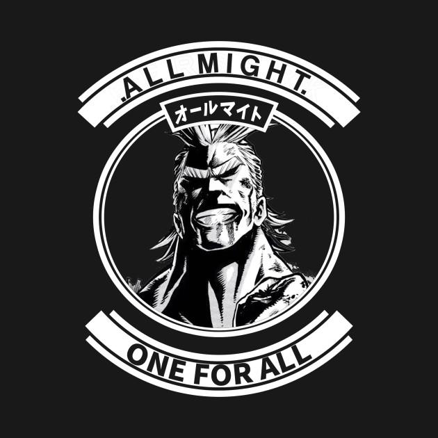 All Might My hero Academia