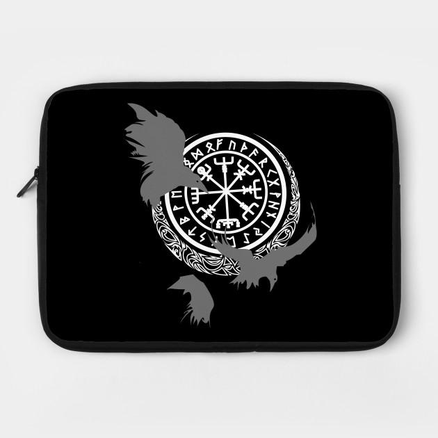 Viking Runes - Odins Ravens - Norse Mythology