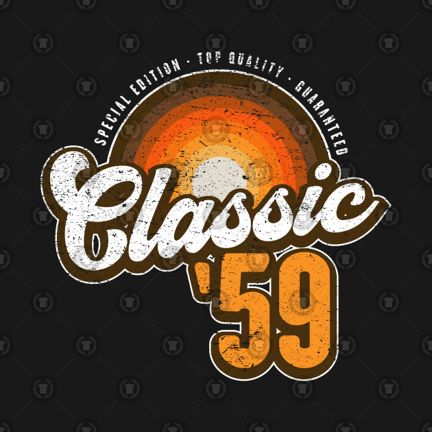 Retro Classic Graphic 60 Years Old 60th Birthday Gift