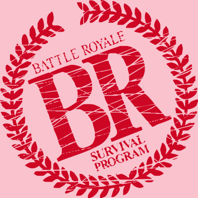 battle royale - battle royale logo - t-shirt | teepublic