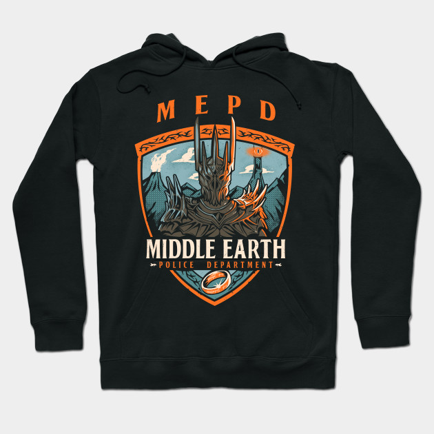Middle Earth Police Hoodie