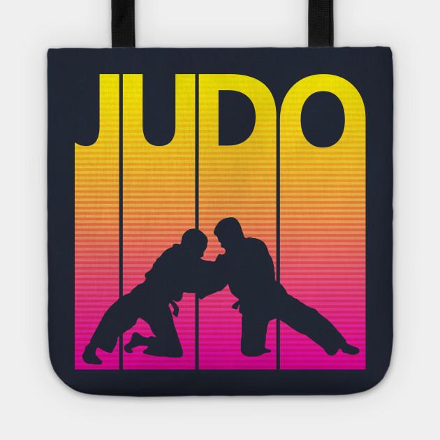 Vintage Retro Judo Gift