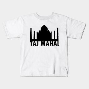 259595754 Taj Mahal Kids T-Shirts   TeePublic