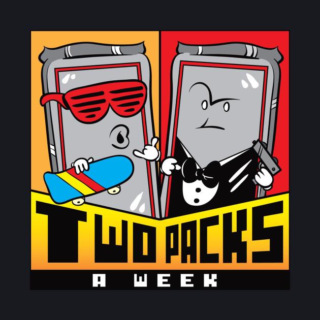 2 Packs A Week Logo