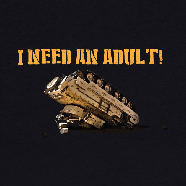 I Need An Adult!
