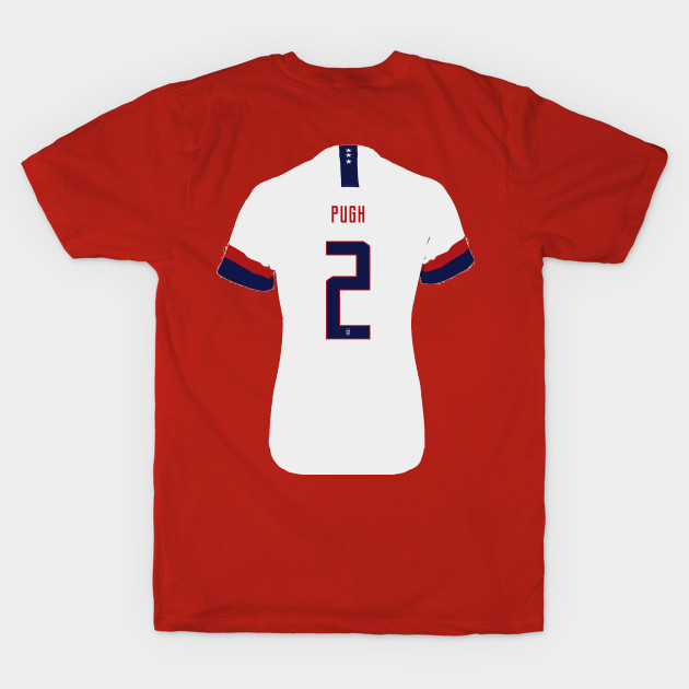 hot sale online ae006 9be2e Pugh - US Women's Soccer Jersey