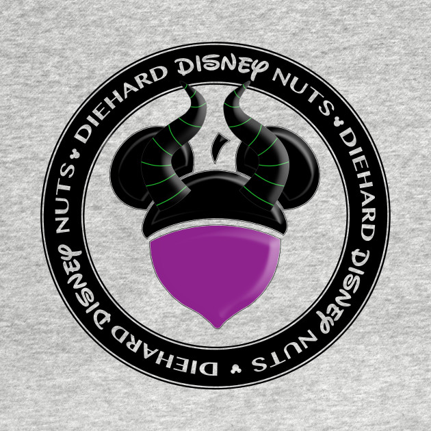 DDN maleficent black logo