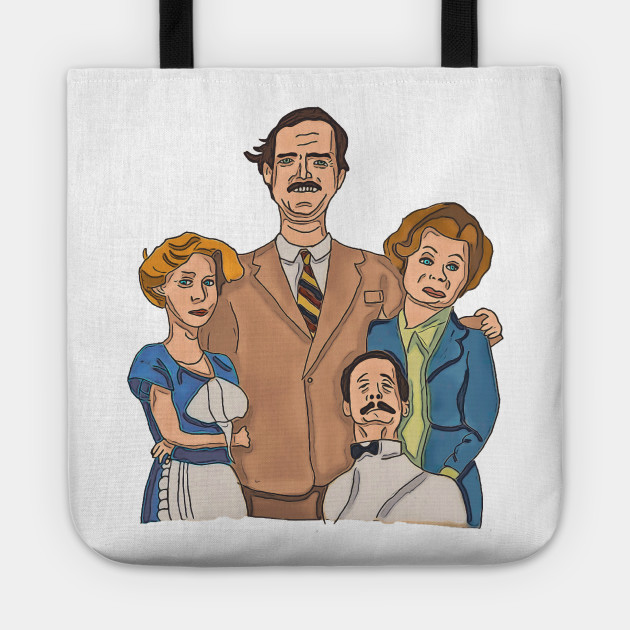 Fawlty Towers funny cartoon
