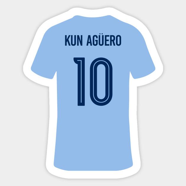 big sale a9b47 ec480 Kun Aguero Jersey