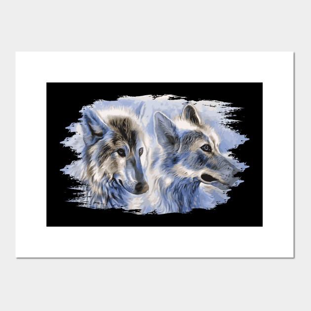 Wolf Art Awesome Creative Cool Stylish Design