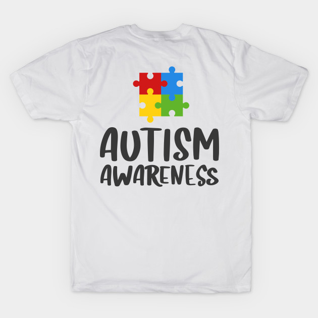 9c57c699852 AUTISM T-SHIRT Autism Awareness - Autism - T-Shirt | TeePublic