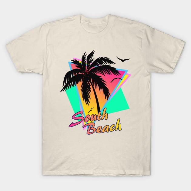 94d362801 South Beach Cool 80s Sunset