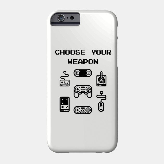 detailed pictures f85f3 be36e Choose Your Weapon Retro Gaming Classic Controllers by loltshirts