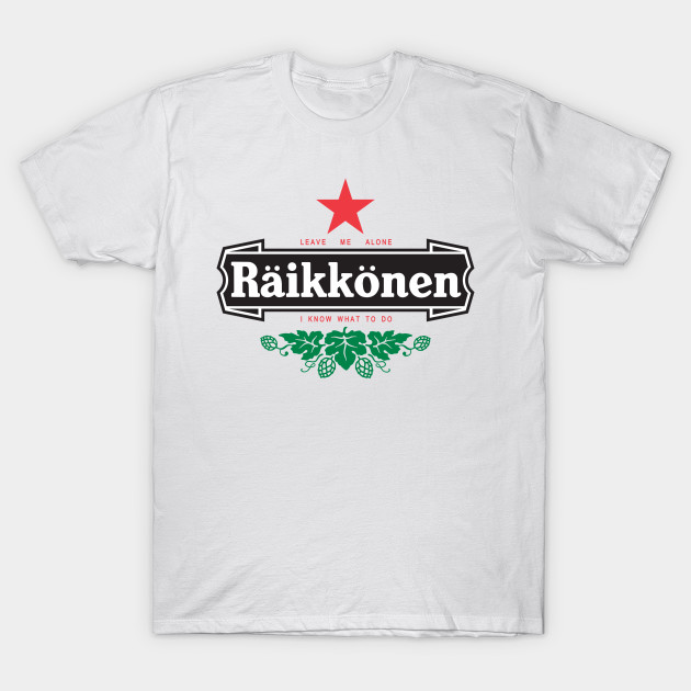 raikkonen logo leave me alone i know what to do simple