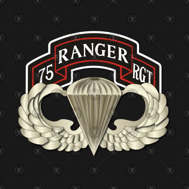 Airborne Badge - Rgr Rgt Scroll