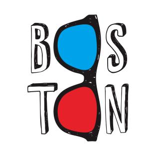 BOSTON 3D GLASSES t-shirts