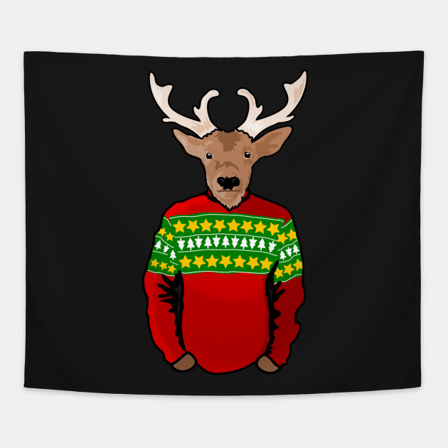 2070494 1 - Reindeer Christmas Sweater